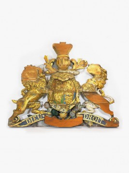 The Royal coat of arms gets a facelift