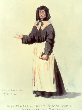 Jeanne Mance, co-founder of Montréal