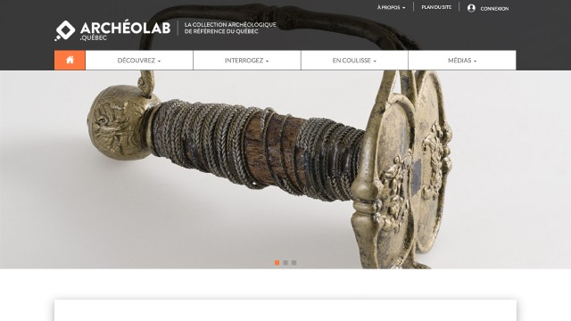 The Archeolab.quebec Project Awarded by the Canadian Museums Association