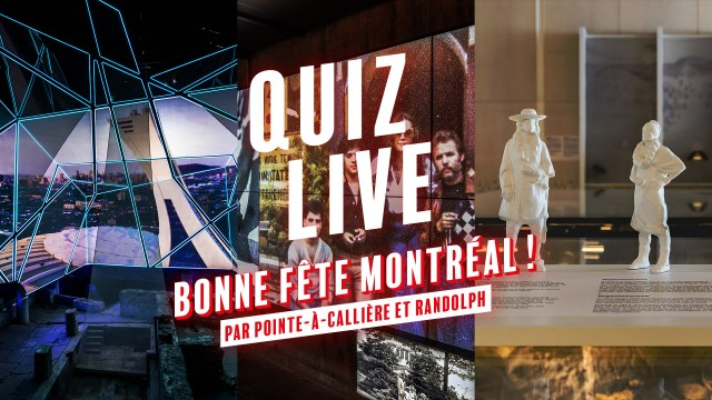 Live Quiz Happy Birthday Montréal