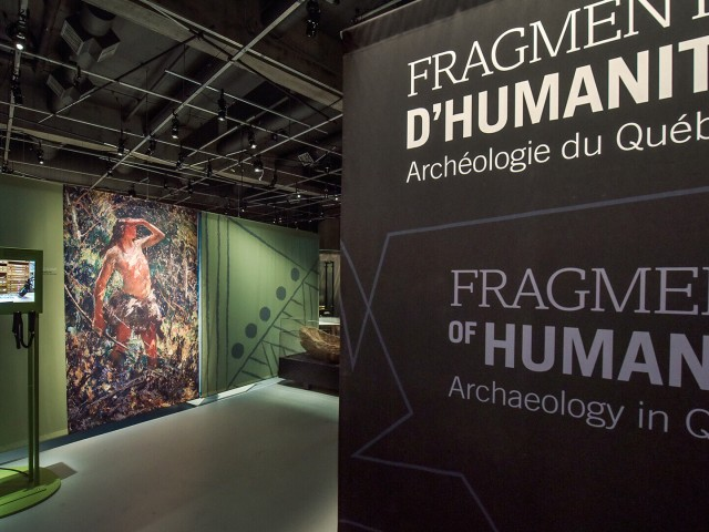 Fragments of Humanity. Archaeology in Québec