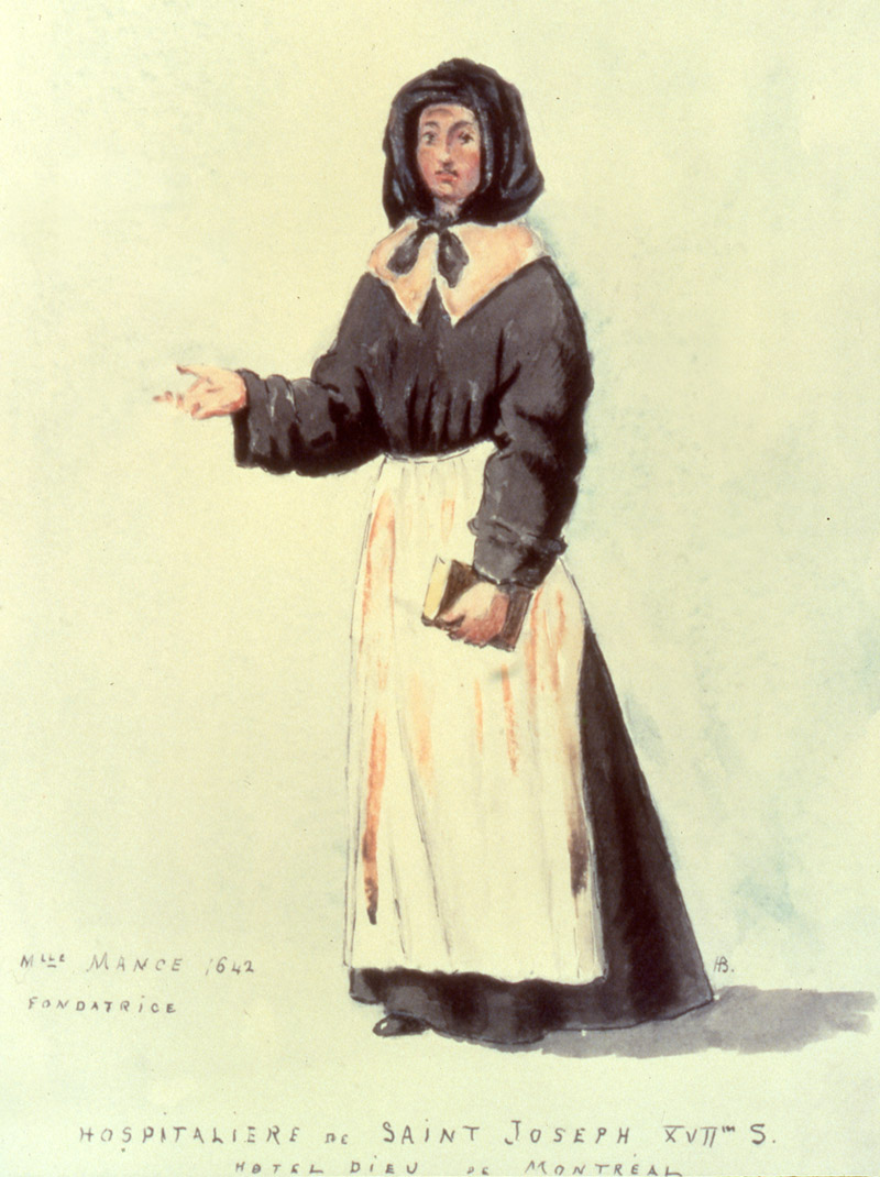 Jeanne Mance Co Founder Of Montr 233 Al Pointe 224 Calli 232 Re